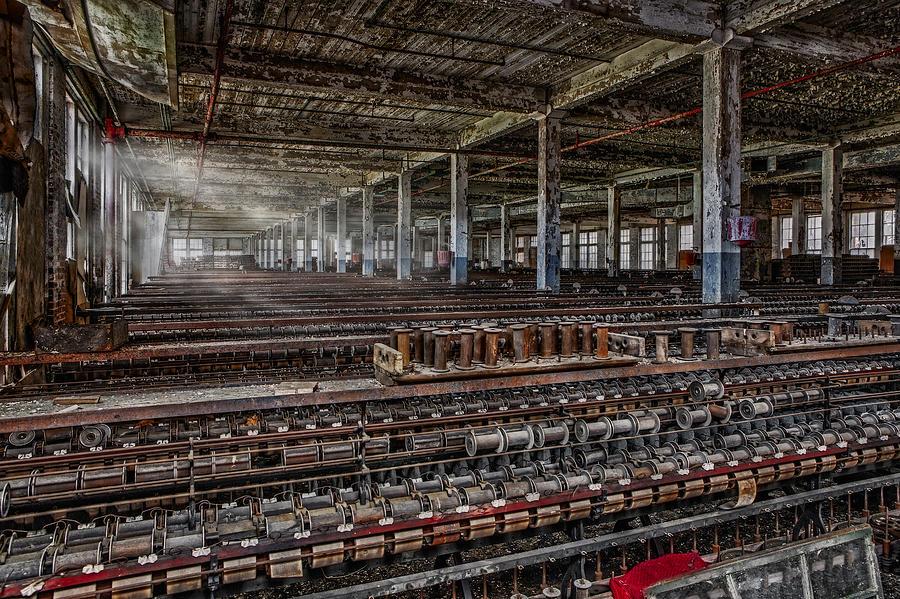 Maryland Photograph - Forgotten Silk Mill by Susan Candelario