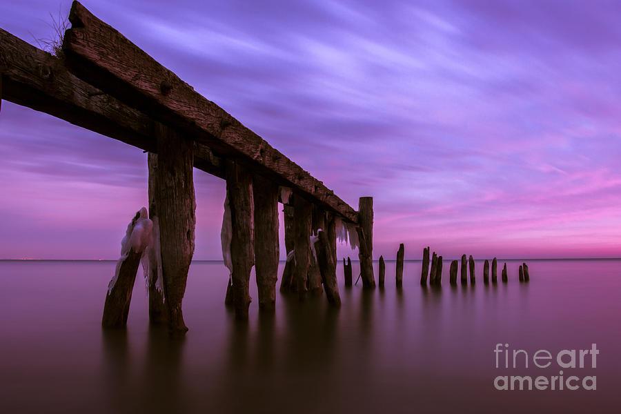50 Point Photograph - Forgotten Sunrise by Matt  Trimble