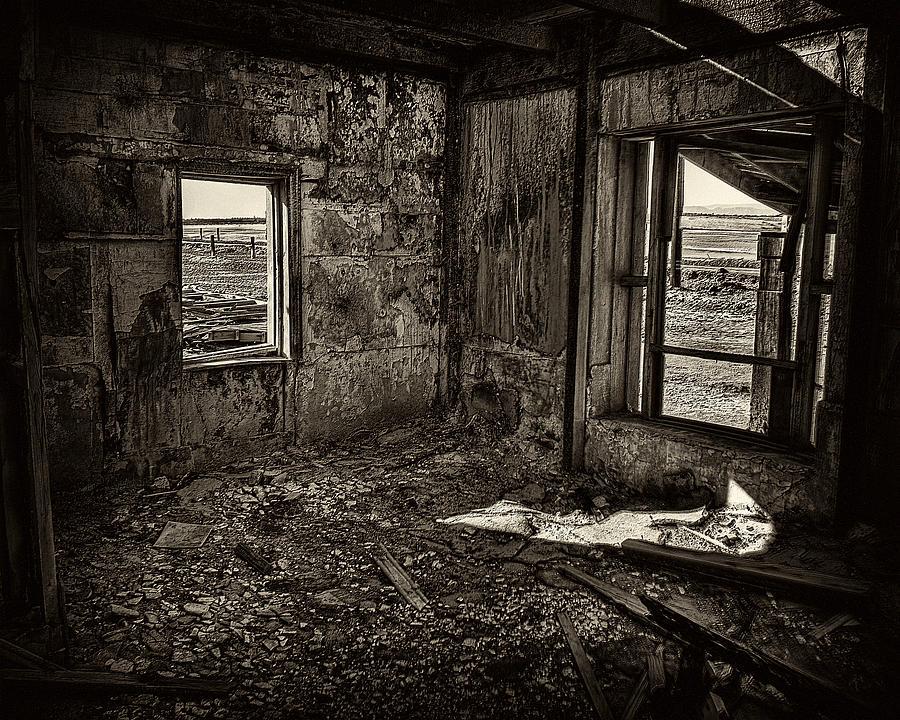 Salton Sea Photograph - Forgotten by Wayne Wood