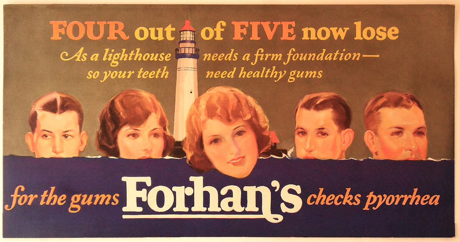 Forhan's Toothpaste by Woodson Savage