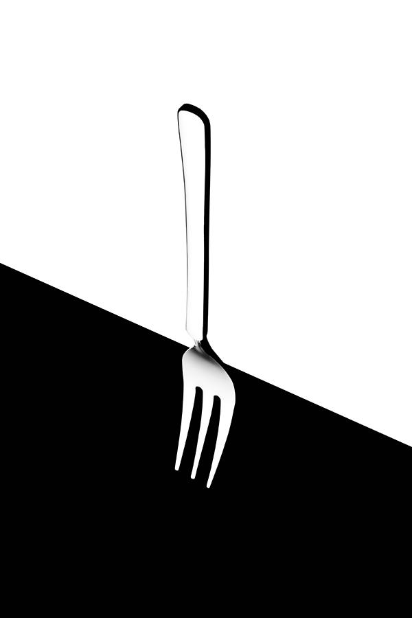 Still Life Photograph - Fork by Naoki Matsumura