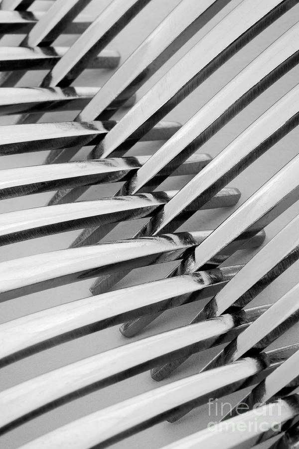 Forks Photograph - Forks I by Natalie Kinnear