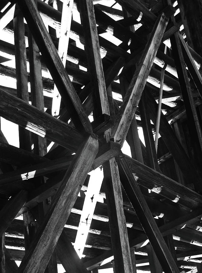 Abstract Photograph - Form And Function 4 by Xueling Zou