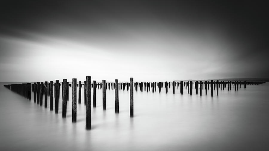 France Photograph - Formation  - Study by Christophe Staelens