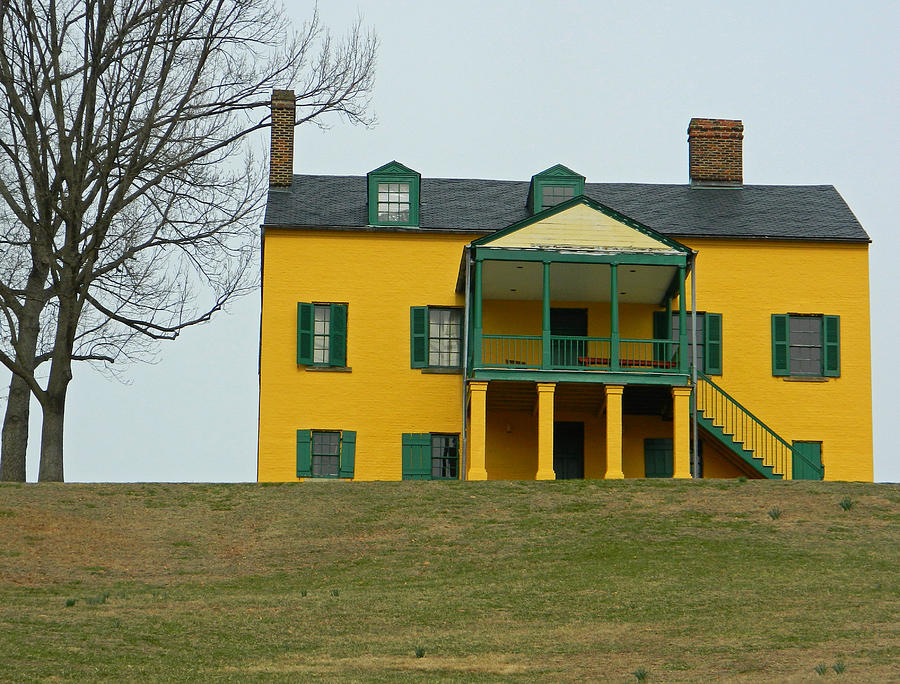 Formerly Commanding Officers Quarters - Fort Washington Md Photograph