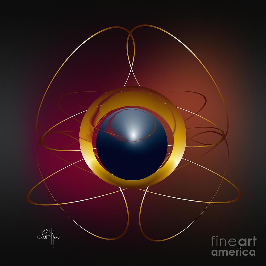 Light Digital Art - Forms Of Light by Leo Symon