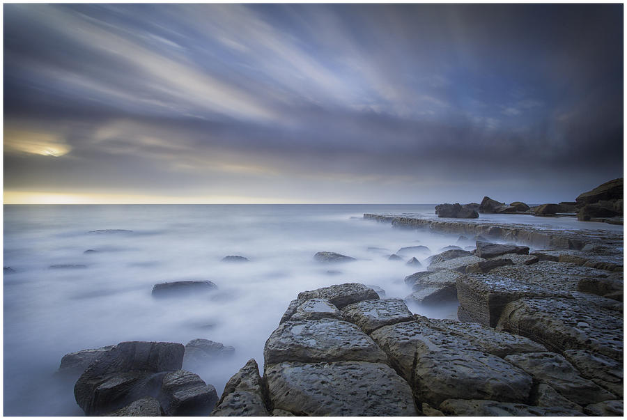 Sky Photograph - Forresters Beach Sunrise 1 by Steve Caldwell