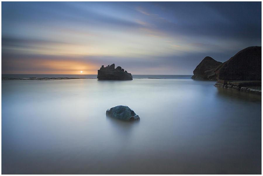 Sky Photograph - Forresters Beach Sunrise 3 by Steve Caldwell