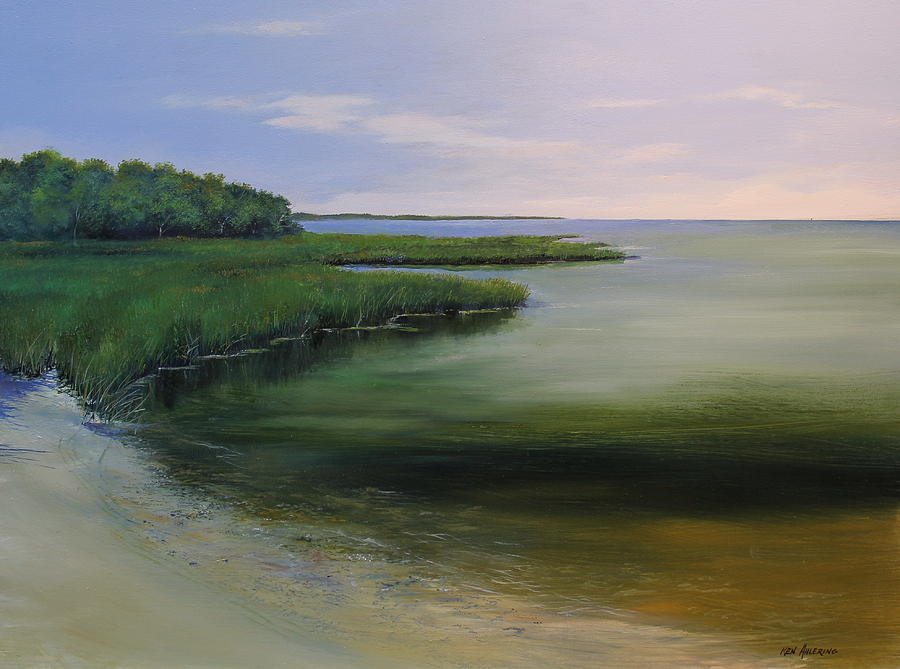 New Jersey Painting - Forsythe Wildlife by Ken Ahlering
