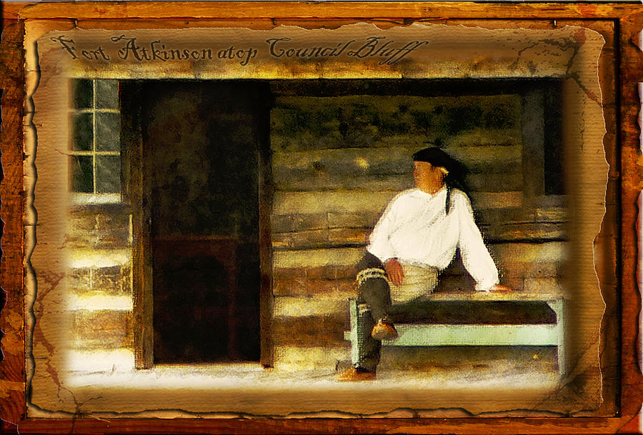 Fort Photograph - Fort Atkinson by John Anderson