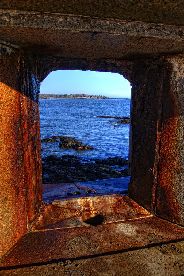 New England Photograph - Fort Constitution by Joann Vitali