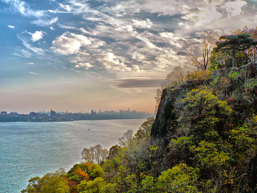America Photograph - Fort Lee View by Artistic Photos