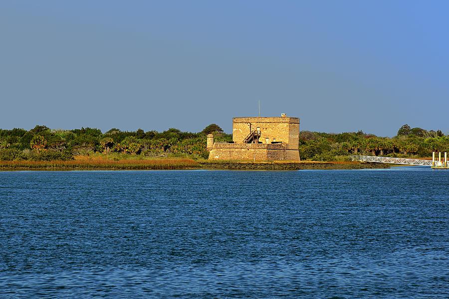 Fort Photograph - Fort Matanzas - Saint Augustine Florida by Christine Till