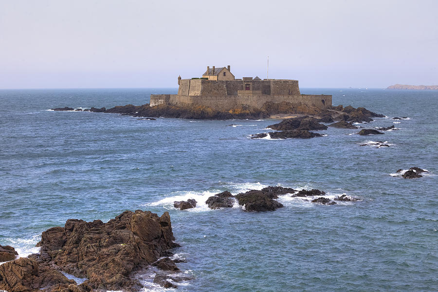 Fort National Photograph - Fort National - Saint-malo by Joana Kruse