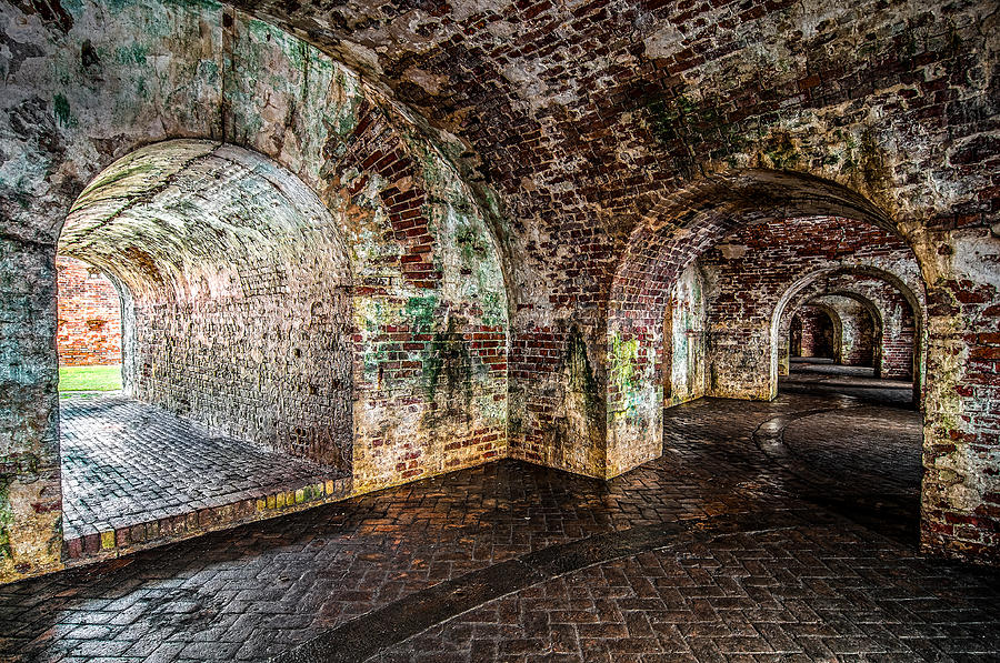 Andy Crawford Photograph - Fort Pike by Andy Crawford