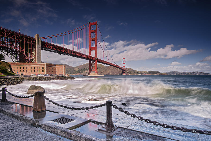 Fort Point Golden Gate Bridge Photograph By David Yu