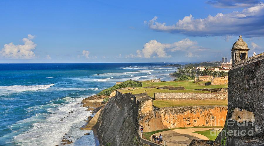San Juan Photograph - Fort San Cristobal by Mina Isaac