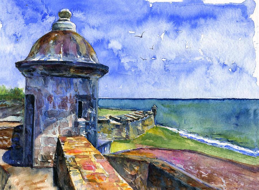 Acrylic Paintings Of Puerto Rico
