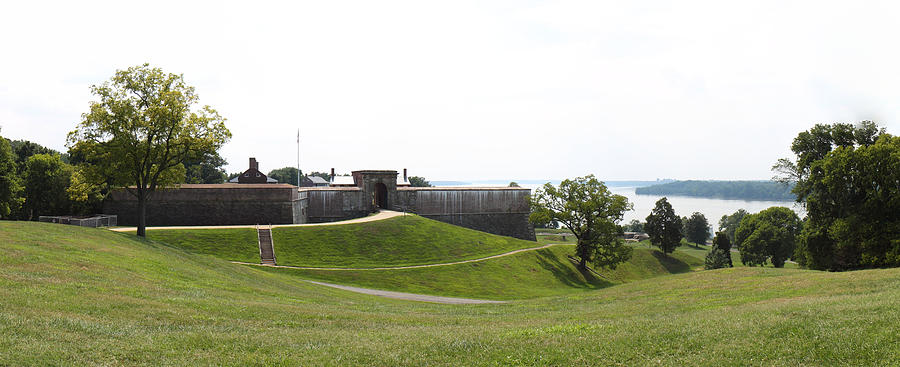 Fort Photograph - Fort Washington Park - 12124 by DC Photographer