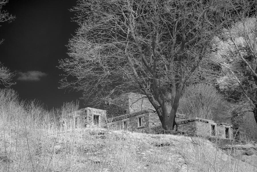Maine Photograph - Fort Williams In Ir 3 by Joann Vitali