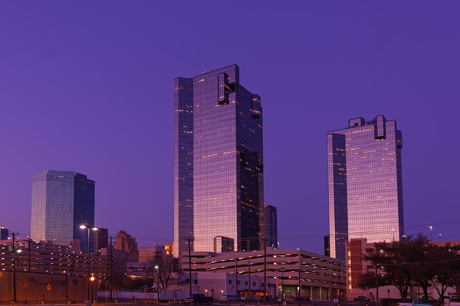 Fort Worth Downtown Sunrise Photograph