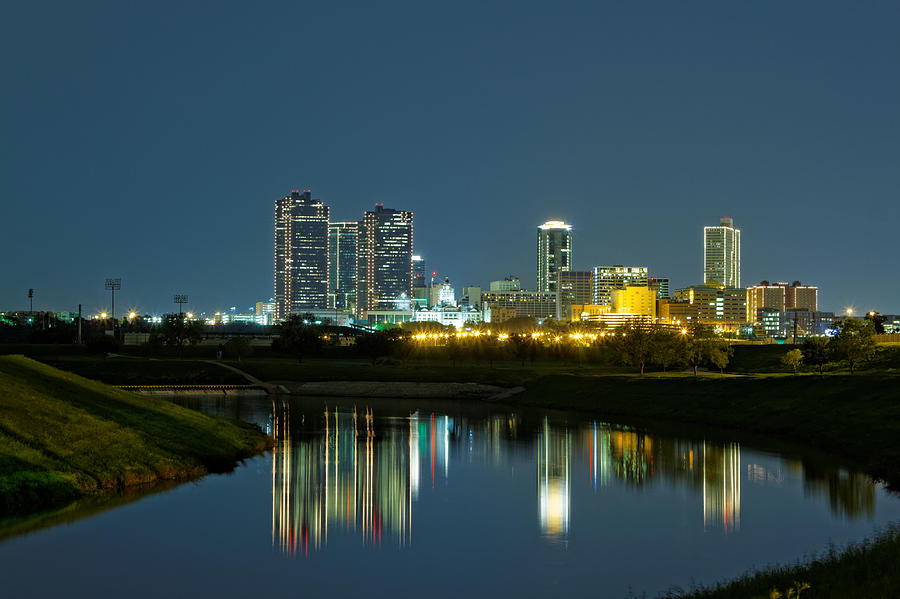 Fort Worth Reflection Photograph