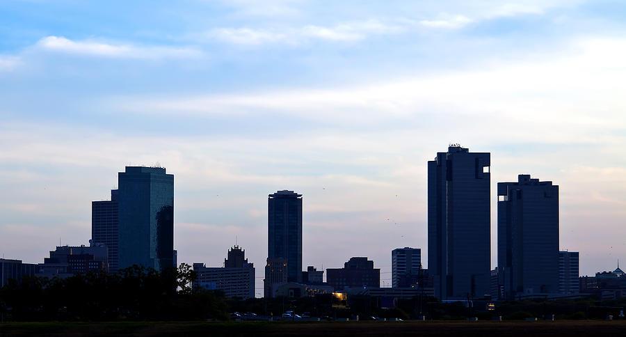 Fort Worth Skyline Photograph
