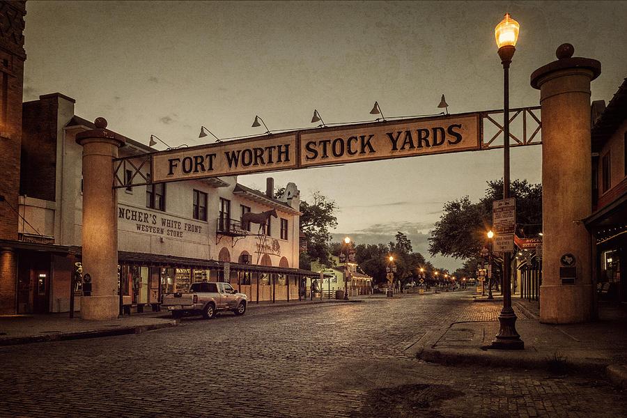 Fort Worth Stockyards Photograph