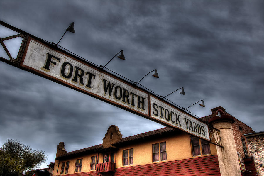 Fort Worth Stockyards Welcome Photograph