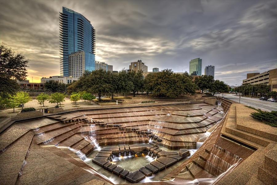 Fort Worth Water Garden Photograph