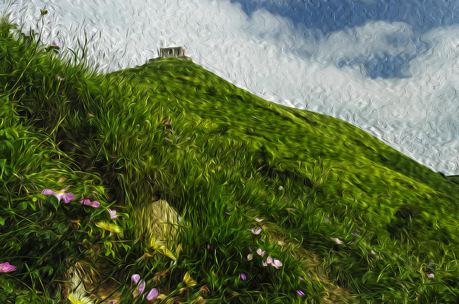 Abandoned Places Painting - Forte Diamante 0166p - By Enrico Pelos by Enrico Pelos