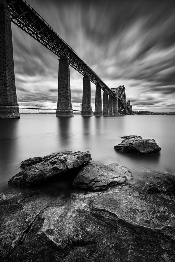 Forth Bridge Photograph - Forth Bridge by Dave Bowman