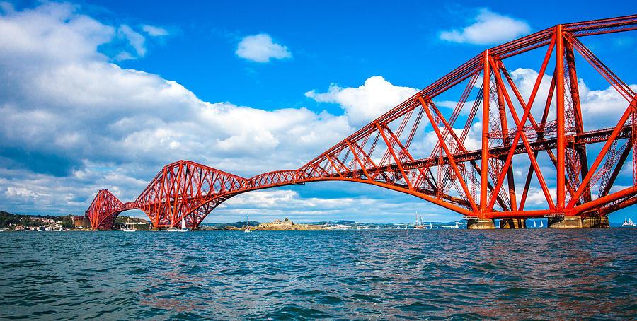 Forth Rail Bridge by Max Blinkhorn
