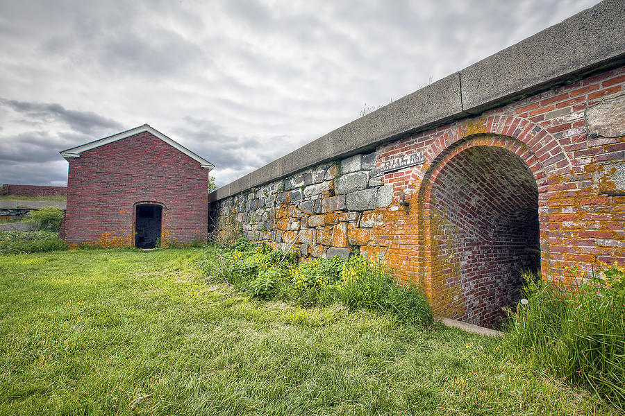 Fortification Photograph - Fortifications by Eric Gendron