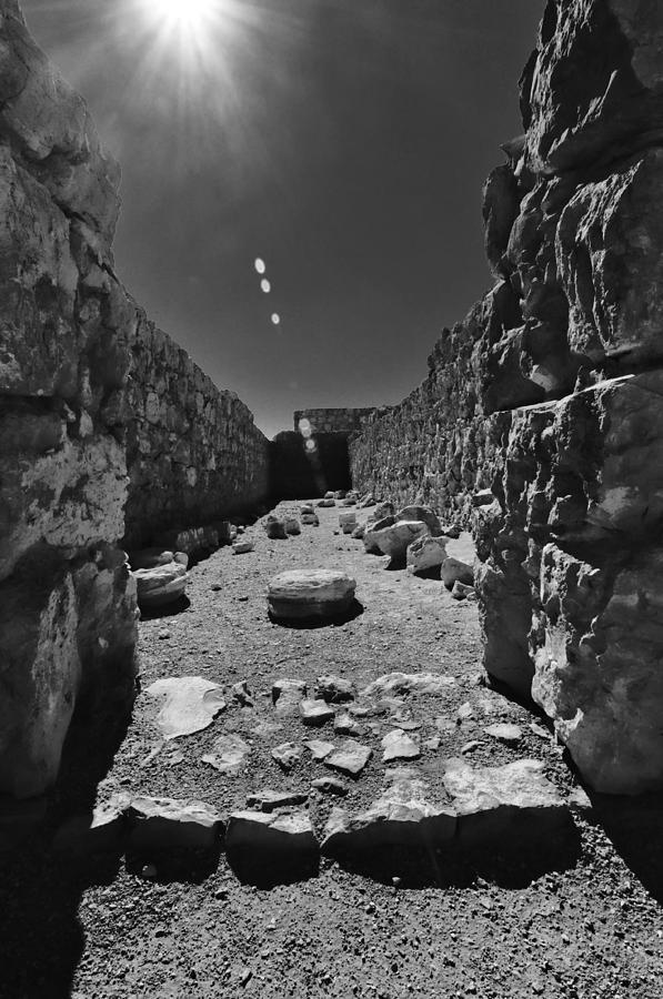 Fortress Of Masada Israel 2 Photograph by Mark Fuller