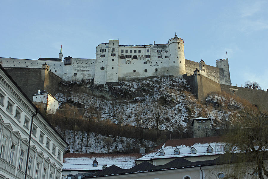 Hohensalzburg Photograph - Fortress On The Hill by Laura Watts