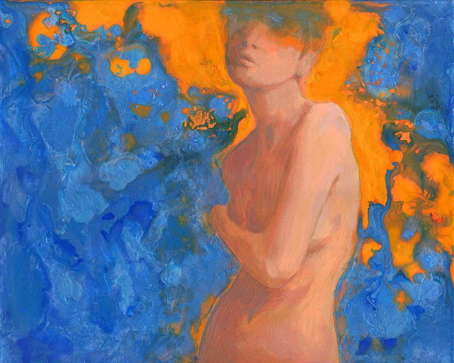 Nude Painting - Fortuna by Heidi Joyce