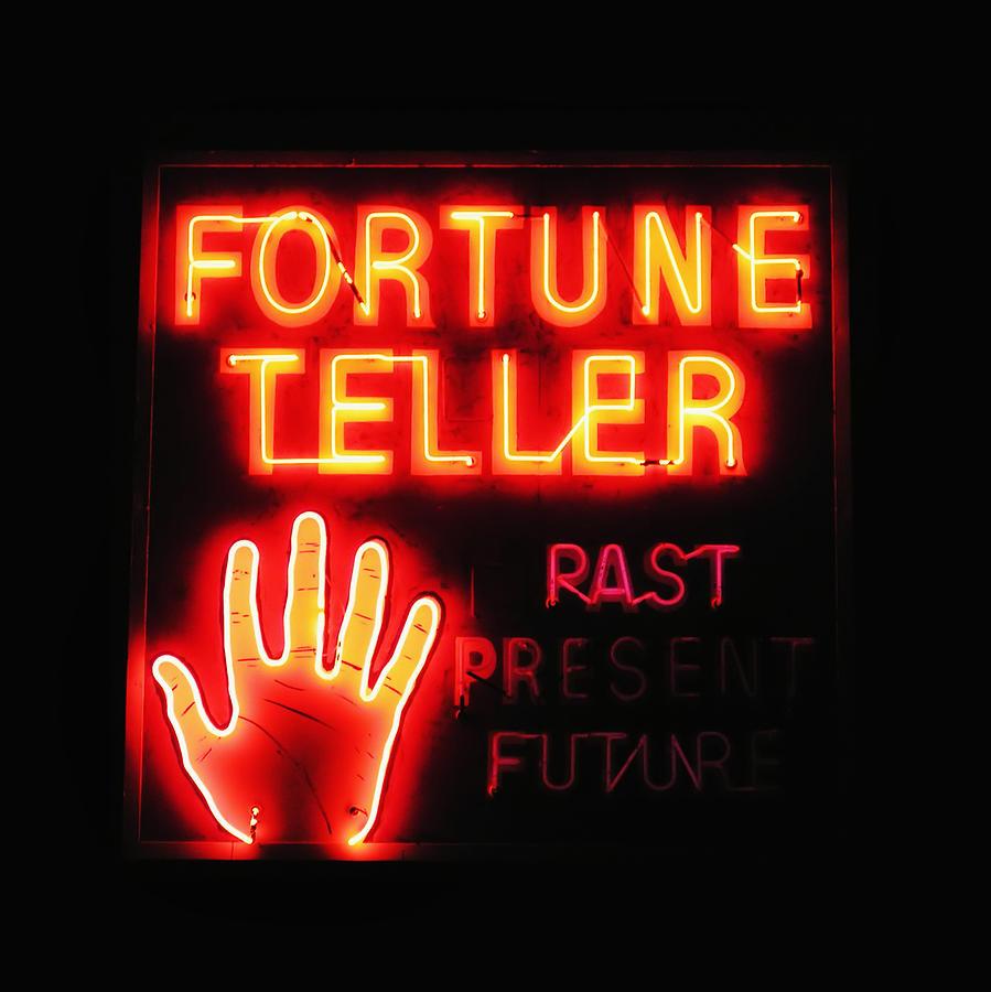 Advertise Photograph - Fortune Teller by Karin Hildebrand Lau