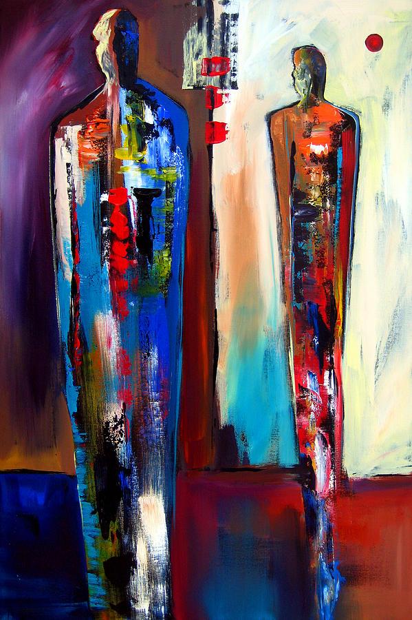 Fidostudio Painting - Forward by Tom Fedro