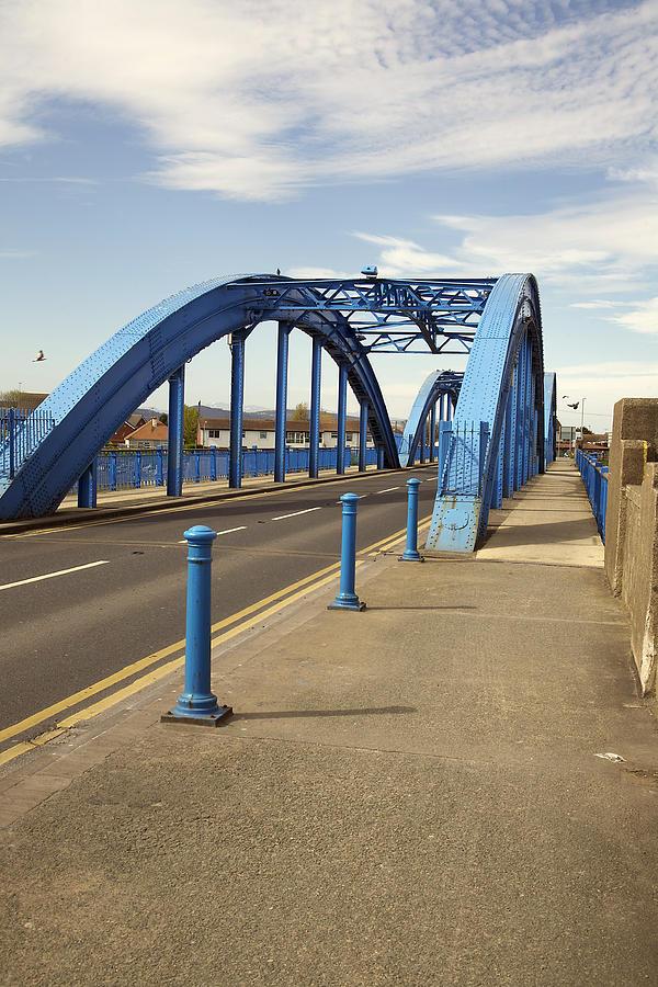 Bridges Photograph - Foryd Bridge by Christopher Rowlands