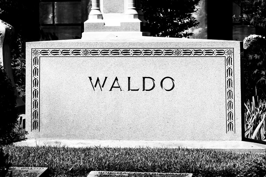 Oakland Cemetery Photograph - Found Him by S Cass Alston