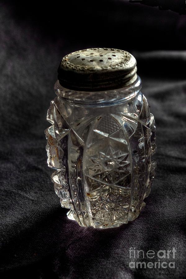 Salt Shaker Photograph - Found  Salt Shaker by   Joe Beasley