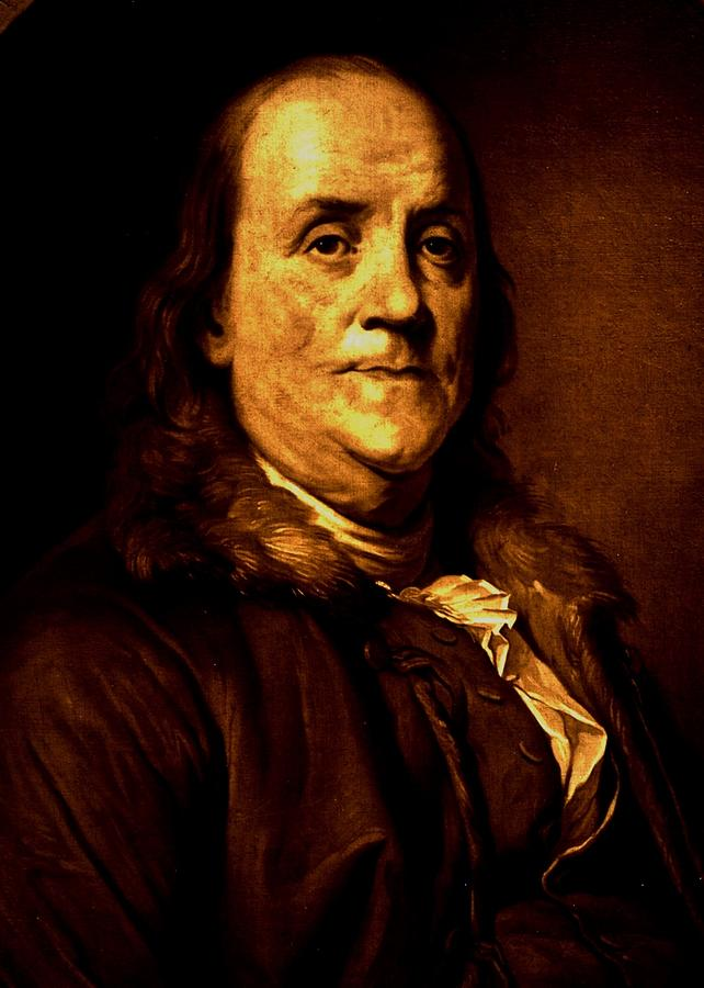 Ben Franklin Photograph - Founding Father by Benjamin Yeager