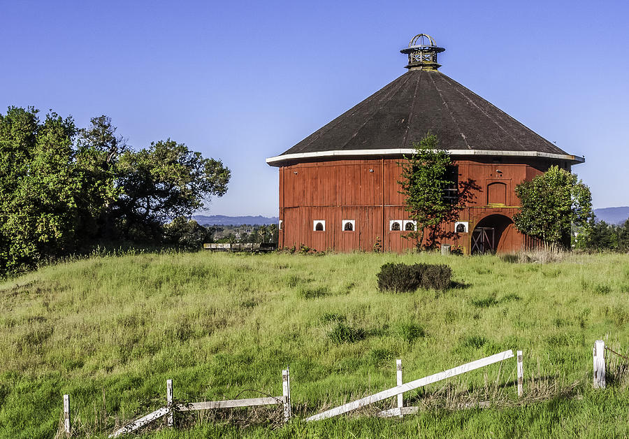 Karen Stephenson Photography Photograph - Fountaingrove Round Barn by Karen Stephenson