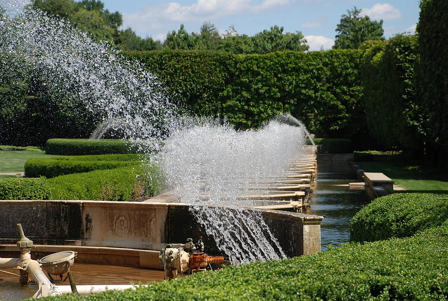 Fountains Photograph - Fountains by Jennifer Ancker