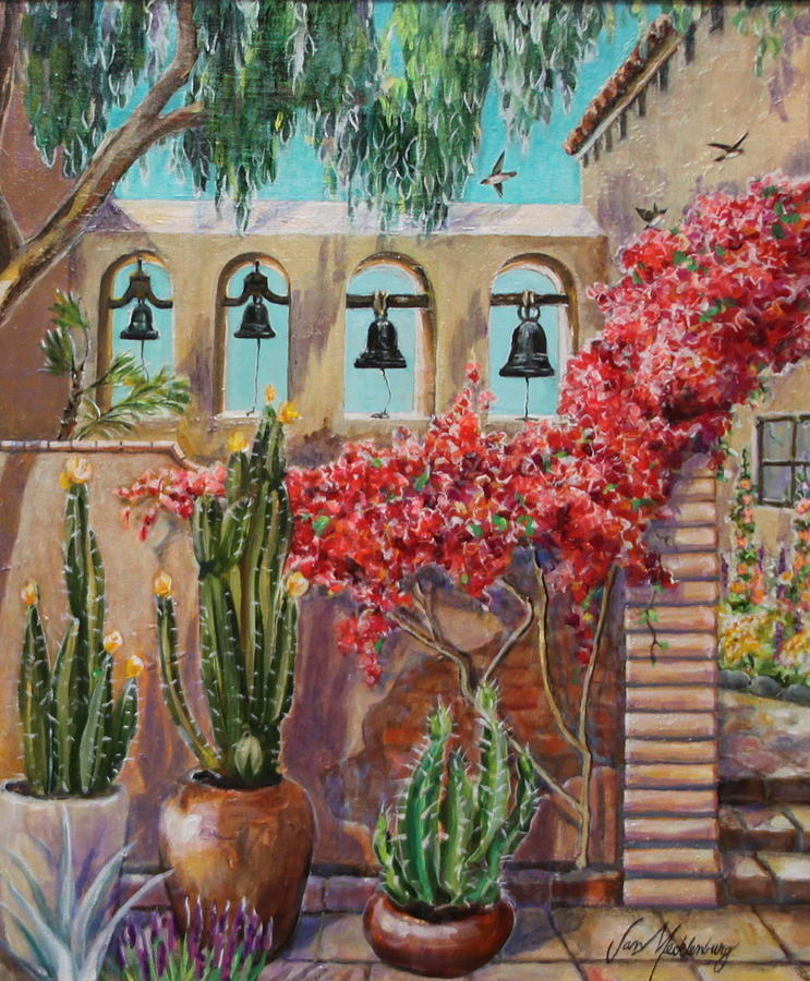 Images Of San Juan Capistrano Mission Paintings