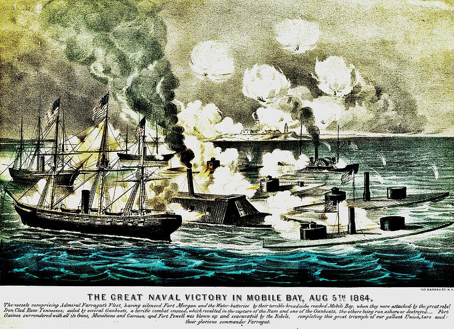 Farragut Photograph - Four Bells Full Speed by Benjamin Yeager