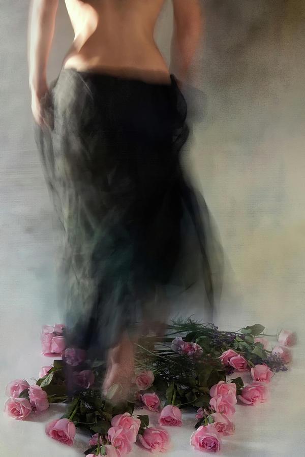 Roses Photograph - Four Dozen Roses L by Miriana
