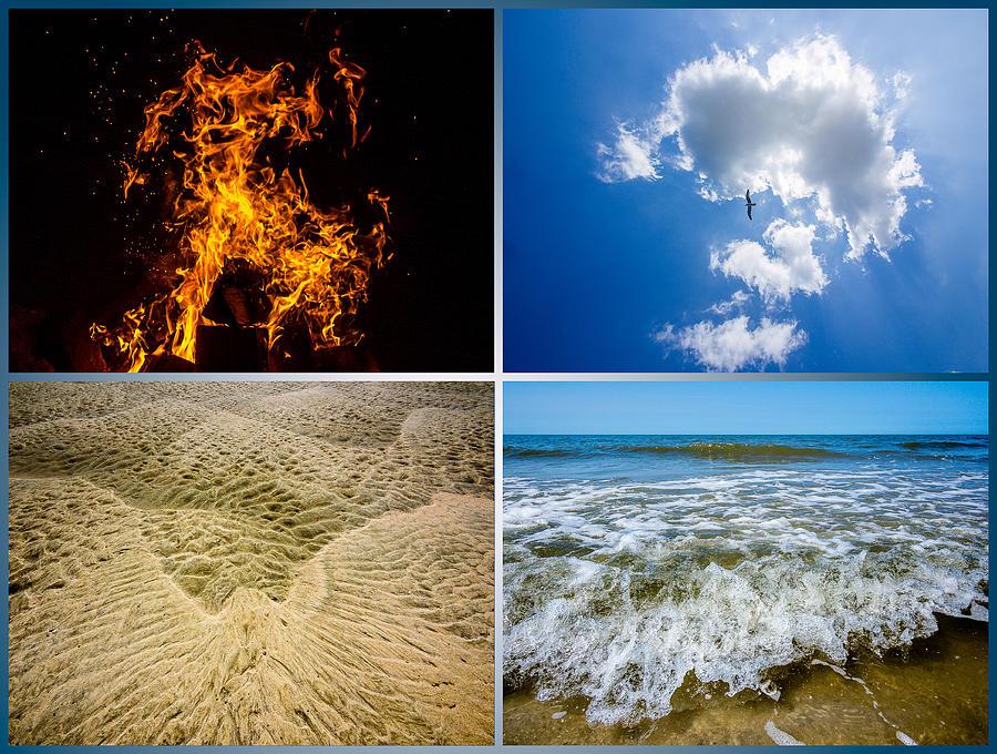 Elements Photograph - Four Elements by Martin Liebermann