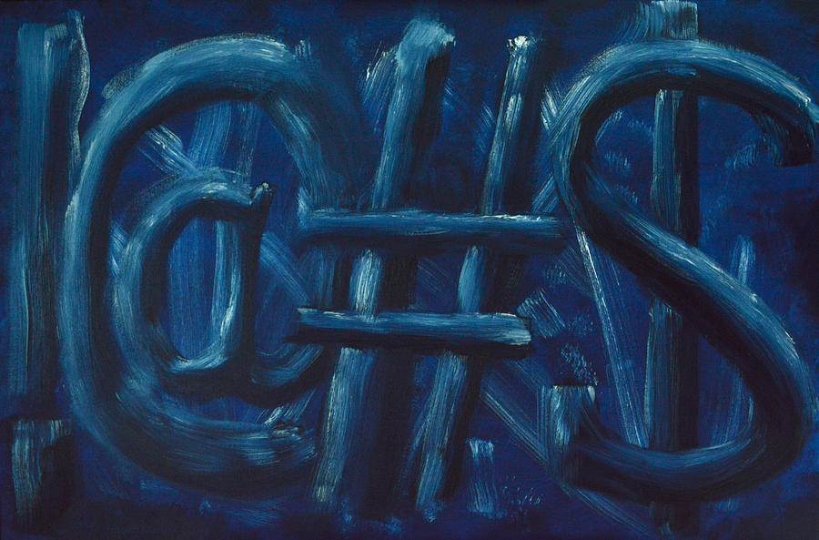!@#$ Painting - Four Letter Words by Shawn Marlow